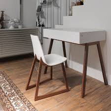 modern contemporary desks walnut desk contemporary with storage bureau by esa vesmanen