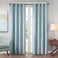 park declan lined jacquard energy saving window curtain