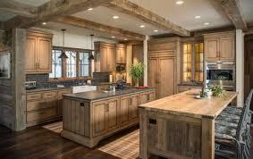 ilot de cuisine en bois cuisine contemporaine bois en 75 propositions de design moderne