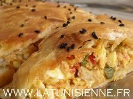 cuisine tunisienne pate au thon feuilleté à la tunisienne par la tunisienne