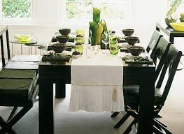 kitchen table setting ideas beautiful 27 modern dining table setting ideas settings on ilashome