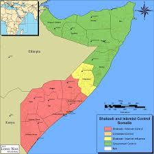 Map Of Somalia Biyokulule Online