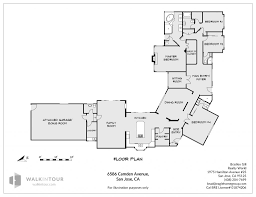 floor plan 6586 camden avenue san jose california