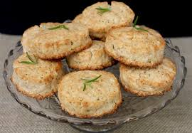Lake Lure Cottage Kitchen - sugared rosemary lemon scones the lost kitchen lake lure