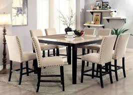 Counter Height Dining Room Dodson Ii Table Cm3466pt Furniture Of America Counter Height