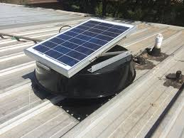 Roof Fan by Roof Fan Ventilation Use Solar Roof Vents For Effective Roof