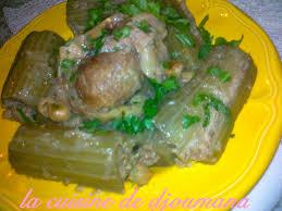 cuisiner cardons dolma khorchef cardon farcie la cuisine de djoumana