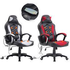 Massage Desk Chairs Red Office Chair Ebay