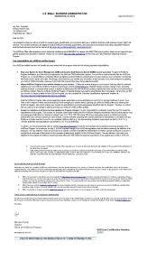 Certification Approval Letter Sba 8 A Sdb Certification Letter
