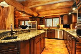 home interiors kitchen log home interior gallery hochstetler milling interior