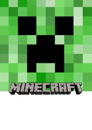 minecraft party make your own custom printable minecraft party invitations