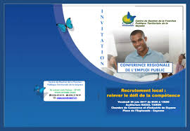recrutement chambre de commerce conférence régionale de l emploi auditorium raoul tanon