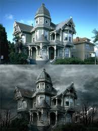 make your own mansion photoshop your own haunted house the midnight society