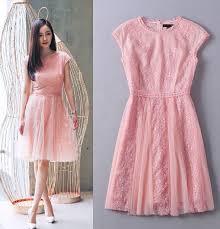 turmec women u0027s pink cap sleeve dress