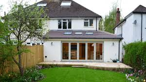 simple wraparound extension to semi detached family home www