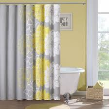 madison park brianna grey and yellow flower print 7 piece cotton