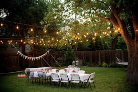 Outdoor Light Decorations Outdoor Lighting Strings Ideas For Backyard