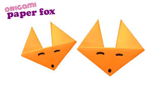 Step By Step Origami For - how to make an origami fox easy step by step tutorial for