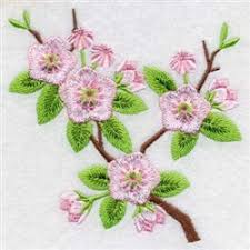 cherry blossom tree designs for embroidery machines