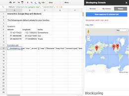 Spreadsheet Errors Google Sheets Quickstart U2013 Blockspring Docs