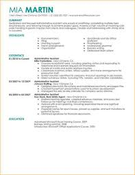 Executive Administrative Assistant Resume Samples by Administrative Assistant Resume Sample Business Proposal