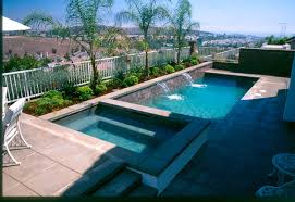small pools and spas rectangle pool spa small pools pinterest rectangle pool