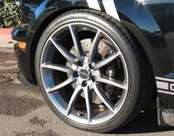 2005 Black Mustang Ford Mustang Gt500 Wheels Gunmetal 20 Inch Staggered Set 2005 2017