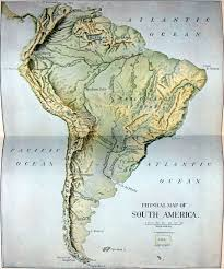 Geographical Map Of South America File Nie 1905 America South Physical Map Jpg Wikimedia Commons