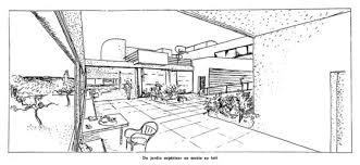 Villa Savoye Floor Plan Harvard Design Magazine Savoye Space
