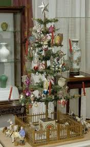 Easy German Christmas Decorations by Feather Tree With Antique German Blown Glass Christmas Ornaments