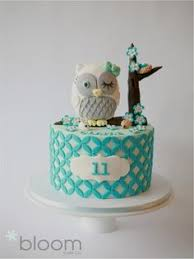 cute owl cakefondant owl cake topper owl cake birthday party