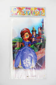 sofia the first table kid baby happy birthday party decoration kids supplies favors