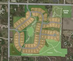 Glacial Drumlin Trail Map Woodridge Estates Lots For Sale In Delafield Demlang Builders