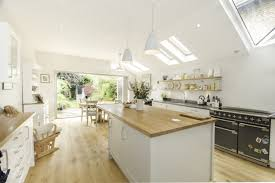 new side return kitchen extension to existing edwardian semi