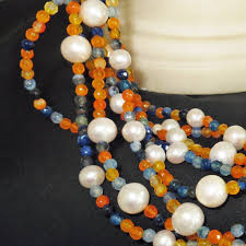 long orange necklace images Greta garbo necklace the pearl ladies jpg
