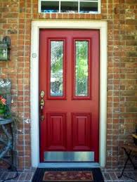 home depot storm doors black friday loving a red front door better with light colored storm door