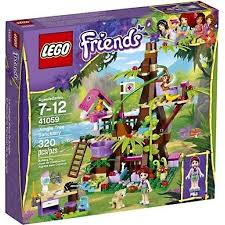 lego friends jungle tree house exclusive set 41059 walmart