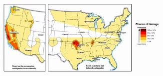 Earthquake Map Usgs 7 Million Americans At Risk Of Man Made Earthquakes Usgs Says