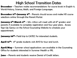 online health class for high school credit jouett 8th grade parent high school transition dates