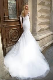 robe mari e sirene dentelle robes de mariée coupe sirène droite et fourreau oksana mukha