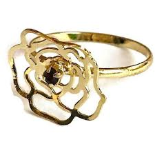rose design rings images Raf rossi gold plated rose design cz 18kts of gold plated ring jpg