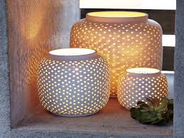 lighting bedroom paper lantern lights with wood side table and