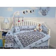 soho designs blue camouflage baby crib nursery bedding