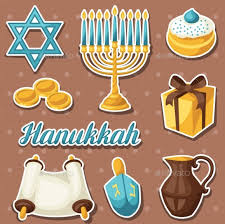 hanukkah stickers hanukkah themed designs patterns and backgrounds