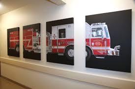 brilliant decoration fire truck wall art amazing idea 25 best