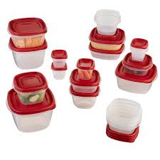 amazon com rubbermaid easy find lid food storage set 40 piece
