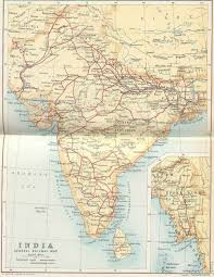 Maps Of India by Irfca Indian Railways Faq Railway Map Of India 1893
