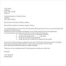 sample financial hardship letters 9 download free documents in