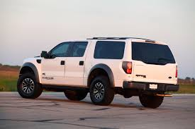 ford suv truck hennessey s ford raptor based velociraptor suv eight seats 600