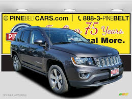 jeep compass granite crystal 2017 granite crystal metallic jeep compass high altitude 4x4